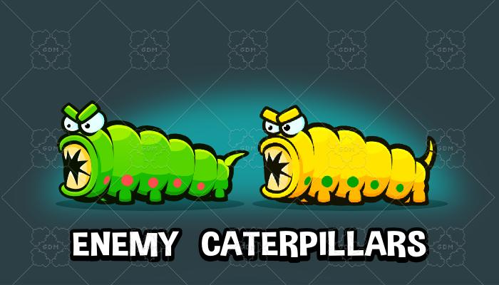 Enemy caterpillars