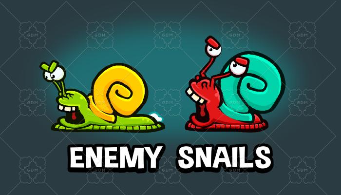 Enemy snails
