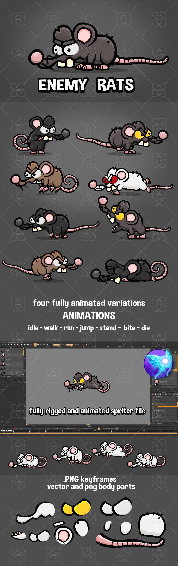Enemy rats