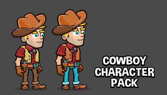 Cowboy character pack