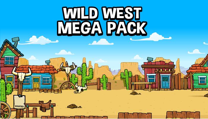 Wild west mega pack