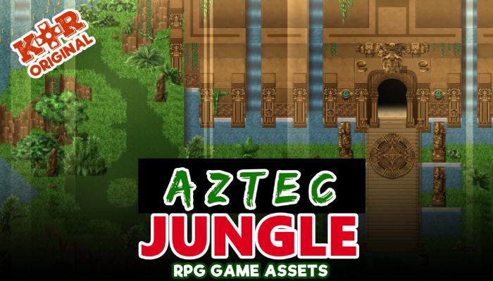 Aztec Jungle Tileset for RPGs