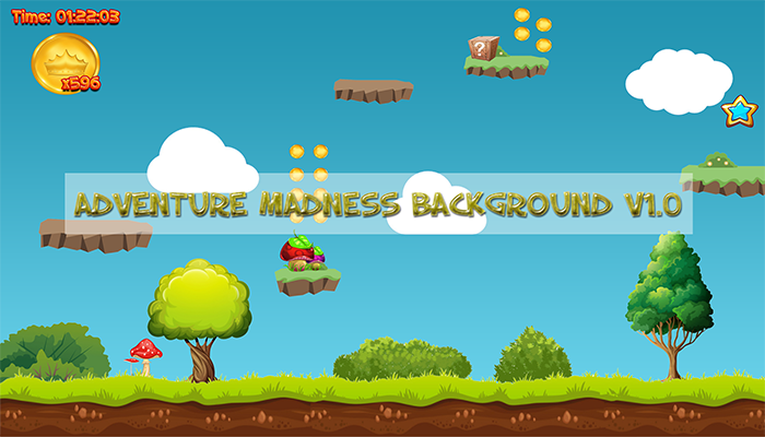 Adventure Madness (Background + GUI Pack)