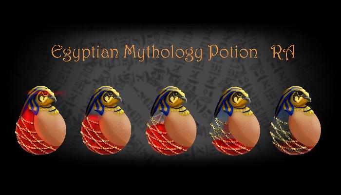 Egyptian Mythology Potion