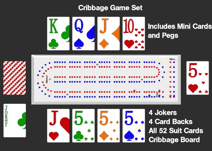 Cribbage Game Set