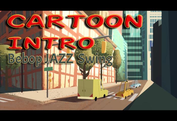 Cartoon Intro Bebop Jazz Swing