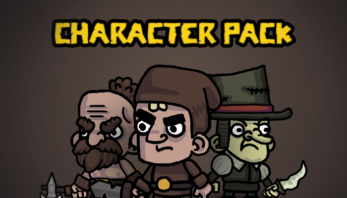 Human Characters – Animated Pack
