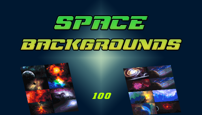 Space Backgrounds Pack