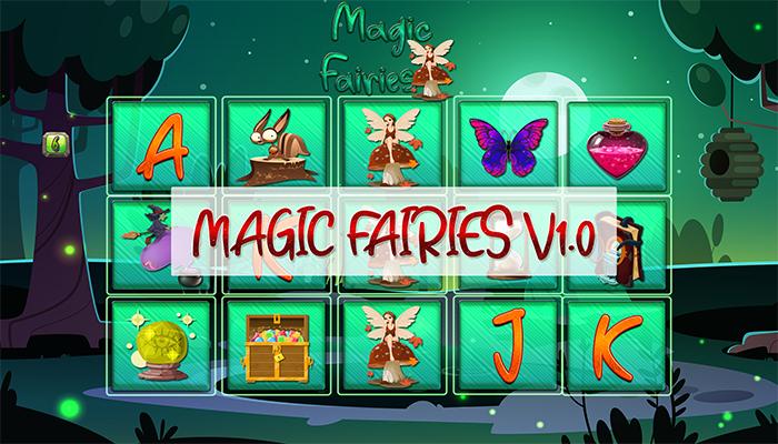 Magic Fairies Slot GUI