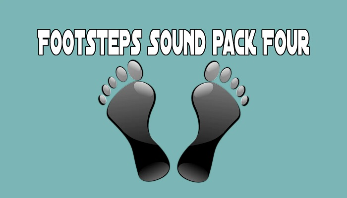 Footsteps Sound pack Four
