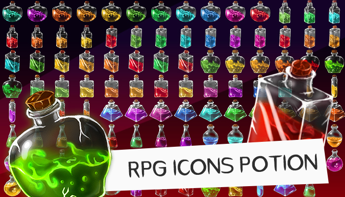 Assets: RPG Icons Potion [+154]