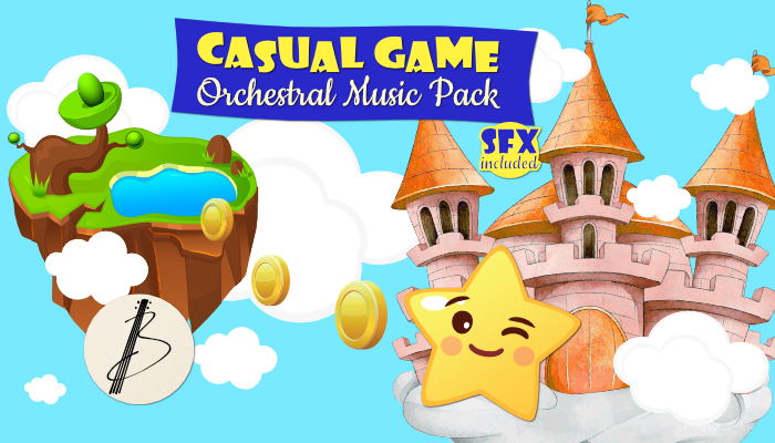 Casual Game Orchestral Music Pack 1