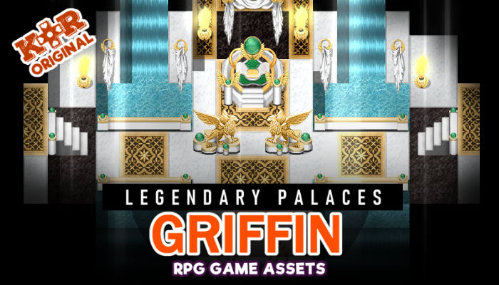 Legendary Palaces ~ Griffin Tileset for RPGs