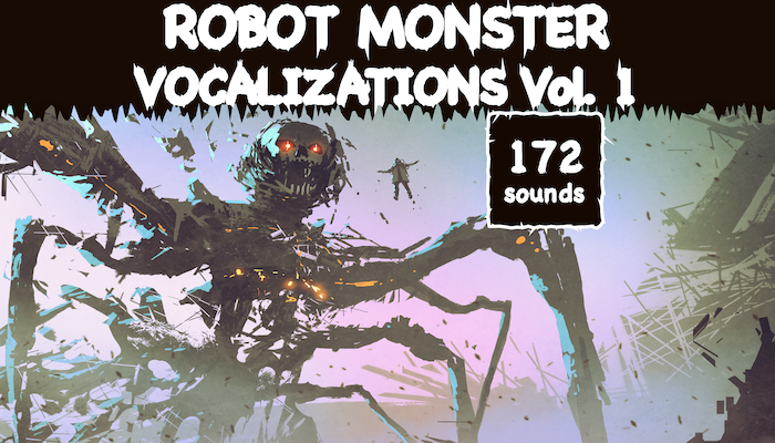 Robot Monster Vocalizations Vol. 1