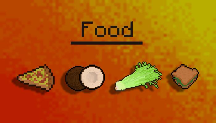 Pixel Art Food!!!