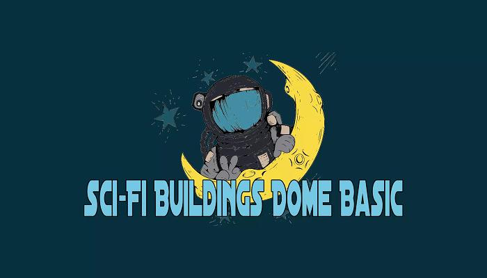 Sci-Fi Buildings Dome Basic