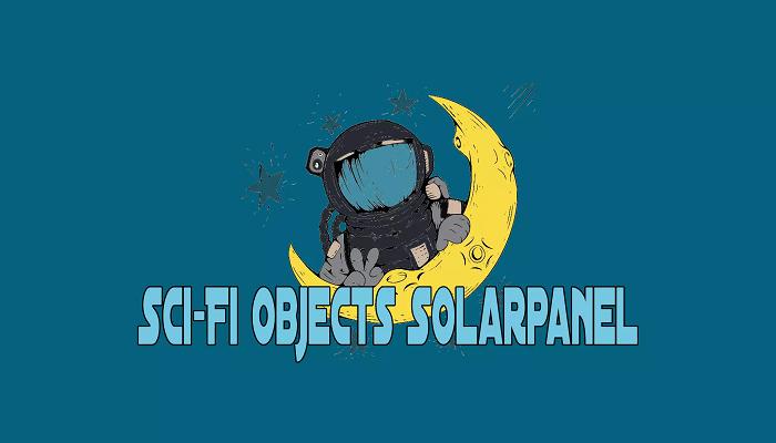 Sci-Fi Objects Solarpanel