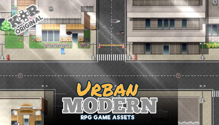 Modern Tileset for RPGs