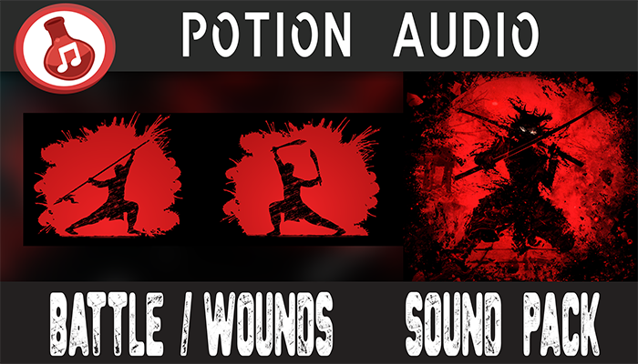 Battle & Wounds Sound Pack