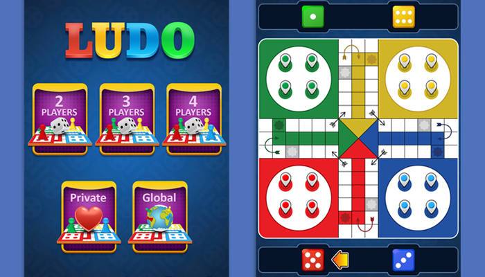 Ludo Game Graphic Assets