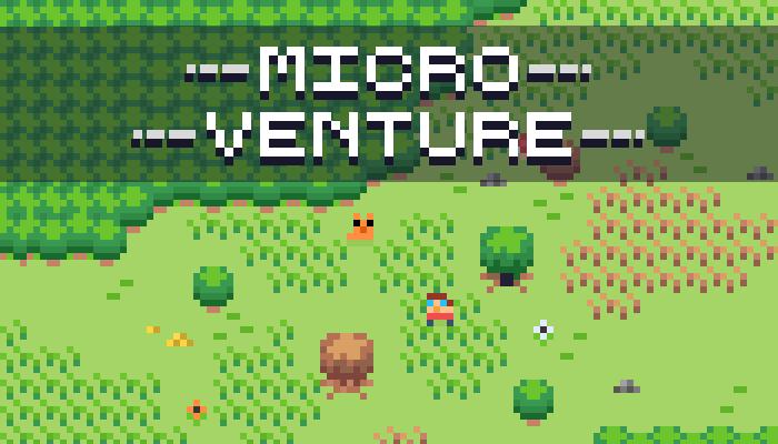 Micro Venture – RPG Top-Down (4×4)