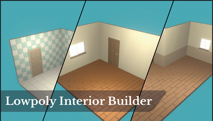 Low Poly Interior Builder