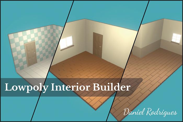 Low Poly Interior Builder