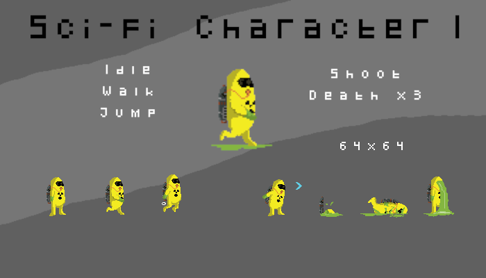 Sci-fi Character 1