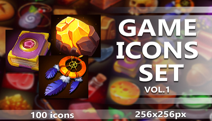 100-RPG-GAME-ICONS