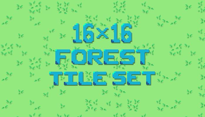 16×16 Forest Tileset