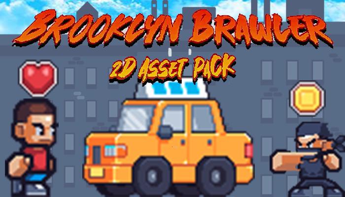 Brooklyn Brawler 2D Asset Pack