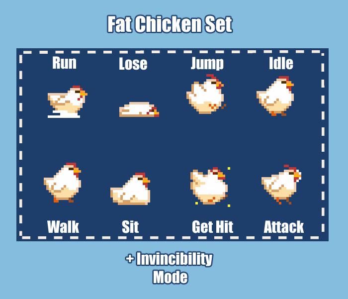 Fat Chicken Set