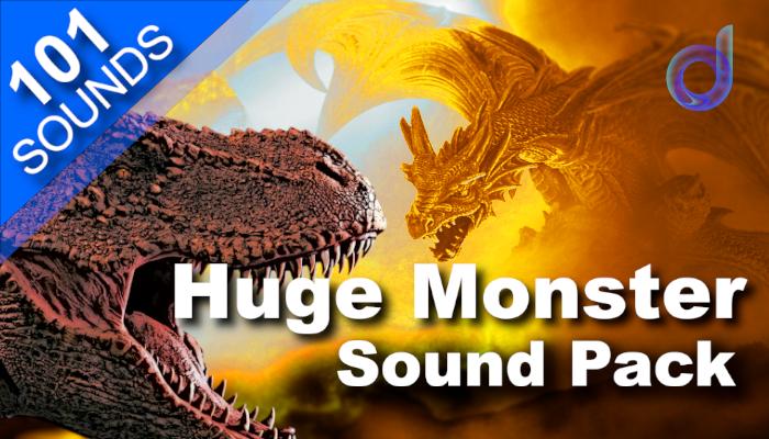 Huge Monster Sounds Pack