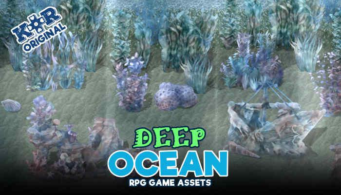 Deep Ocean Tileset for RPGs