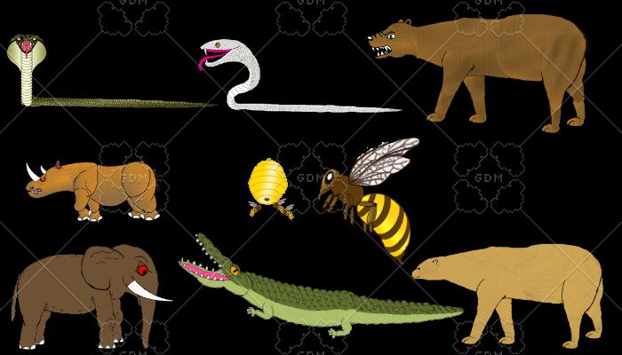 Adventure Animals pack mini