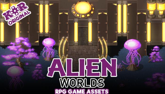 Alien Worlds Tileset for RPGs