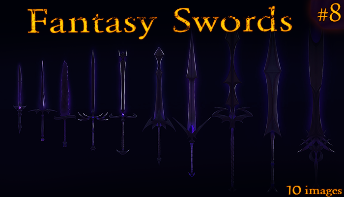 Fantasy Weapon: Shadow Swords set