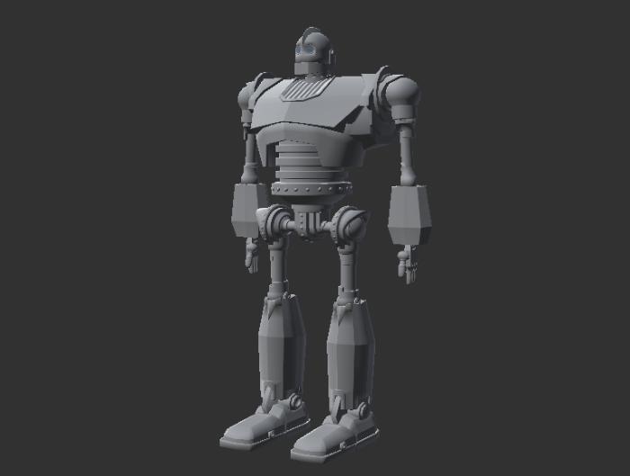NPC Robot with 3 Animations