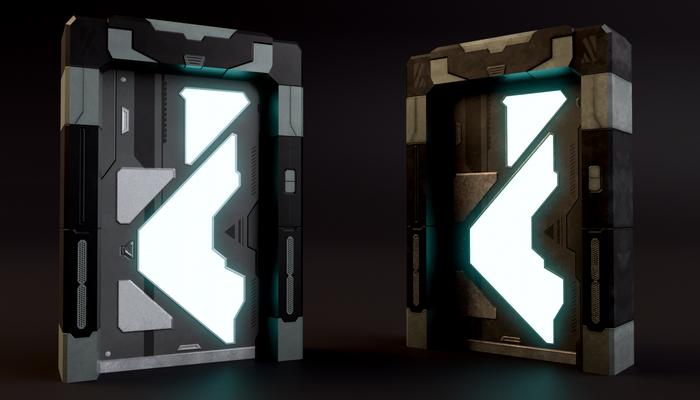 SciFi Door 05