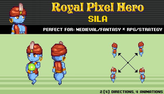 Pixel Art Chibi: Sila / Royal Pixel / Isometric