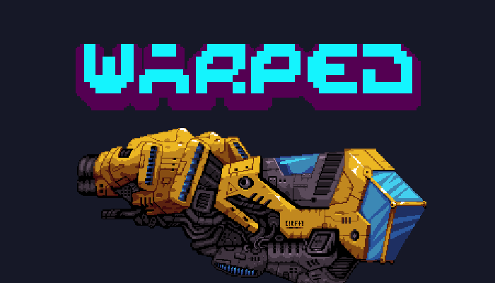 Warped Space Vehicles