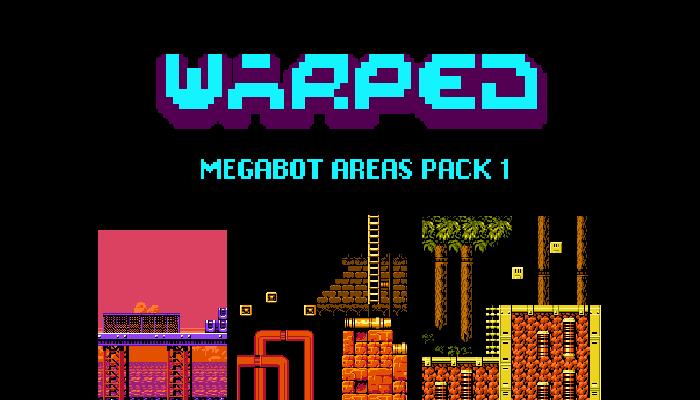 Warped Mega Bot Areas