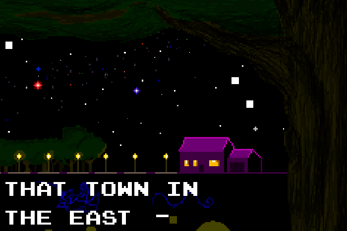 Haunting but Emotional Loop – That Town in the East