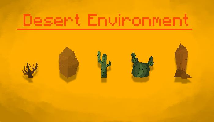 Desert Rocks, Bushes, Cactus and more!!!