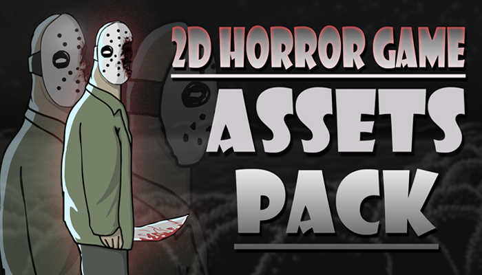 2D Animation Assets Pack for Horror Games