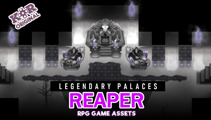 Legendary Palaces ~ Reaper Tileset for RPGs