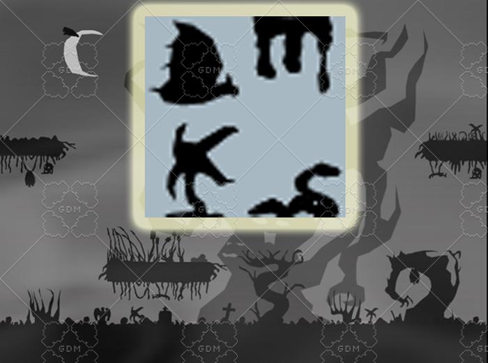 Spooky Monsters Asset Set #1
