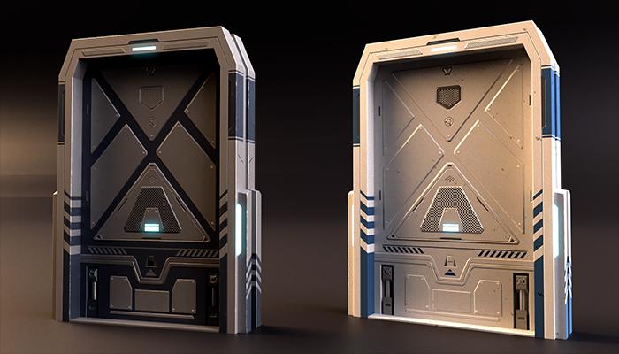 SciFi Doors Pack Vol2