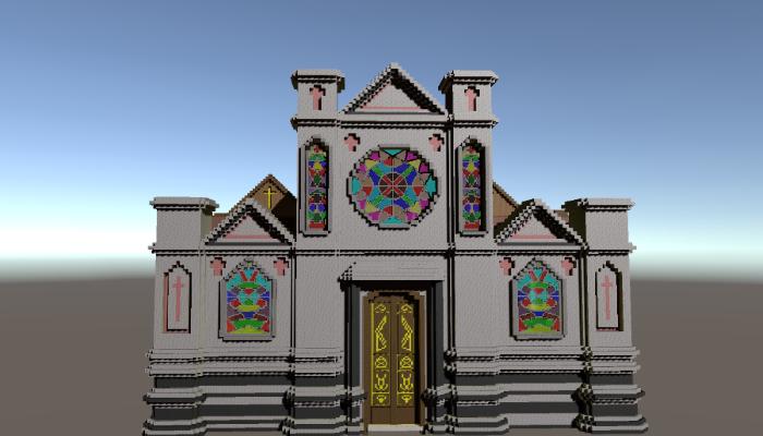 Voxel Church