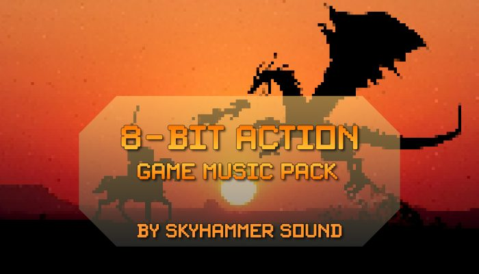 8-bit Action Game Music Pack